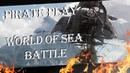 ⚑ Погоня за Сантисимой новичка и портовая стычка - ☠ World Of Sea Battle ☠