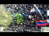 Митинг в Ереване ,на нашей улице )
