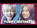 KPOP IDOLS FUNNY MISTAKES ACCIDENTS 1 BTS REDVELVET EXO GFRIEND TWICE GOT7 ETC