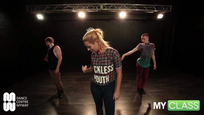 MYCLASS Portishead Over vogue dance choreography tutorial by Lika Stich Dance Centre Myway