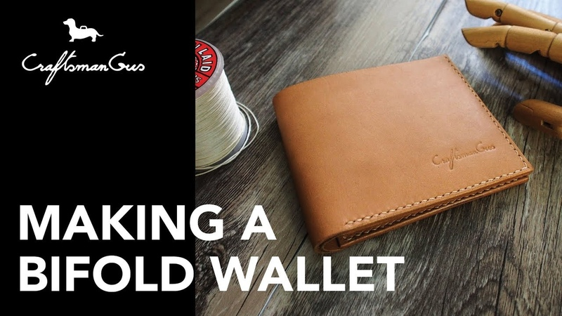 Making Leather Wallet LeatherAddict EP 05