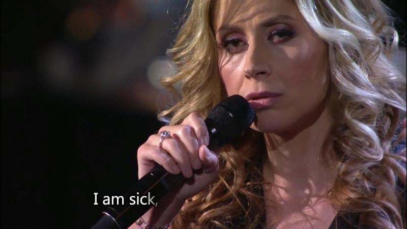 LARA FABIAN-JE SUIS MALADE-ENGLISH LYRICS-LIVE IN MOSCOW-HD
