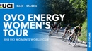 2018 UCI Women's WorldTour – OVO Energy Women's Tour stage 3 – Highlights