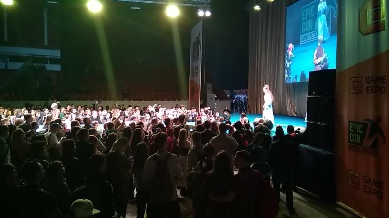 Ульяшка и Васек на Epic Con 2018