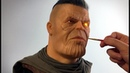 Cable / Thanos Mash-up Sculpture Timelapse - Deadpool 2 / Avengers Infinity War
