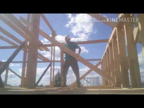 Стройка (часть12)стропильная система крышикаркасный дом своими рукамиИван Серба