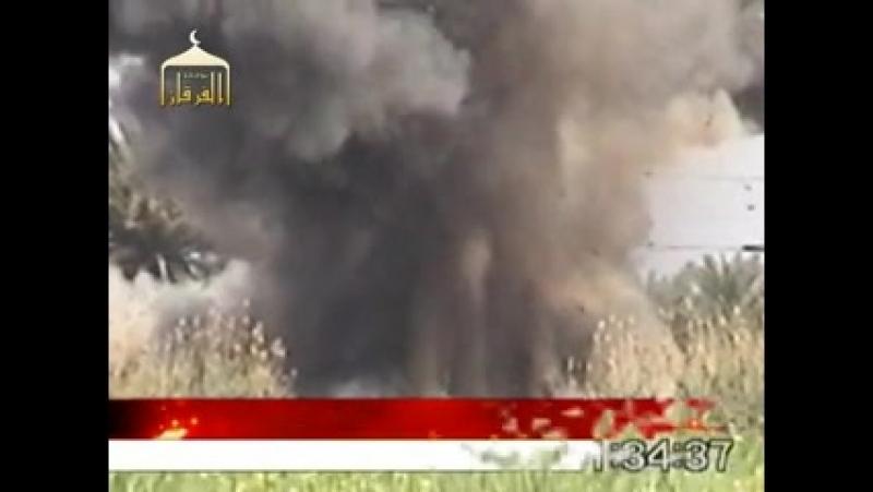Ирак периода оккупации.Подрыв MRAP