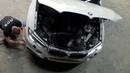 Оклейка кузова BMW X6 полиуретановой пленкой в Челябинске RDS Detailing