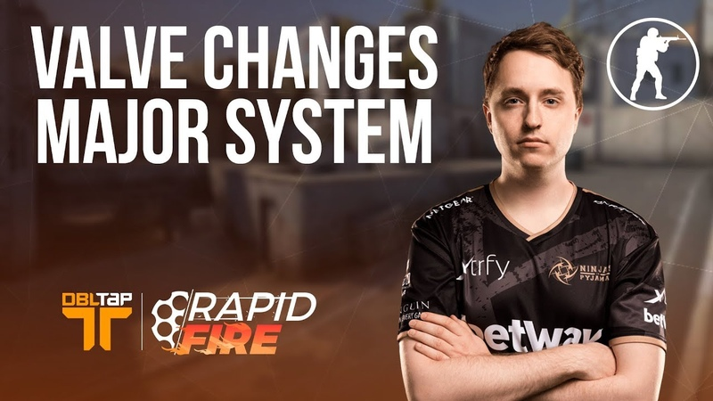CS:GO Pros React to New Valve Major Change | DBLTAP Rapid Fire