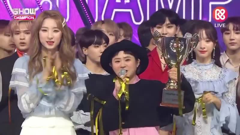 [Music Show] 160119 Show Champion Ending (WJSN)