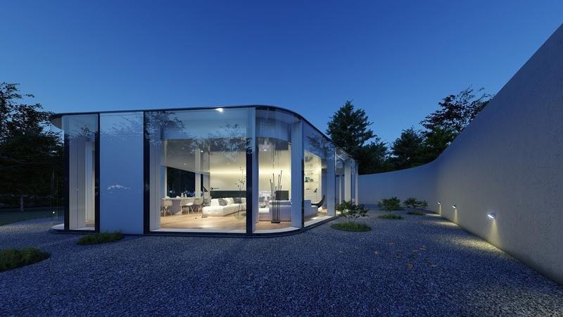 Lumion 8 Lake Lugano House Full 3D Animation by Fatih Ekşi