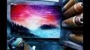 December Morning SPRAY PAINT ART by Skech