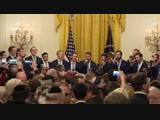 Y-Studs A Cappella Perform at The White House Chanukah Reception