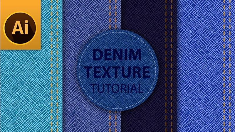 Tutorial: Seamless Denim Jeans Texture in Adobe Illustrator