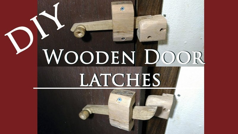 DIY Wooden Latch