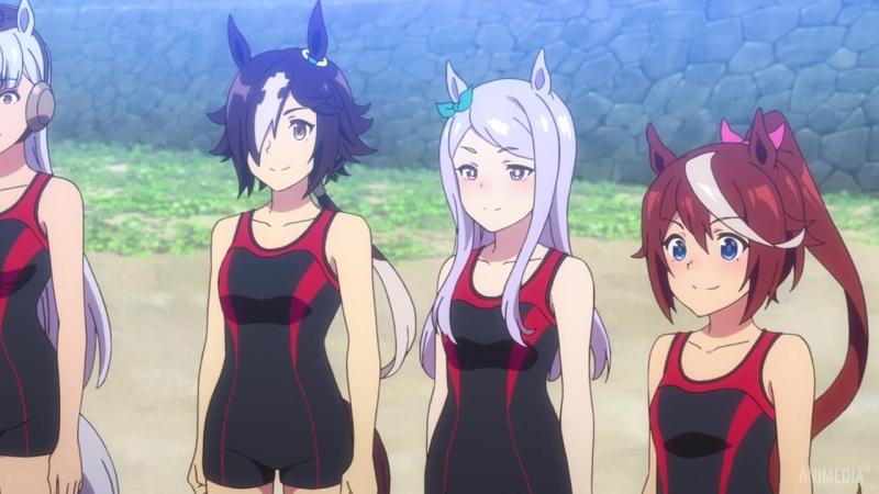 Uma Musume Pretty Derby Девушки Пони Славное Дерби 9 серия Озвучка KASHI LolAlice KingMaster AniMedia