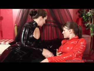 Sammie B & Becky Speed Latex & Pvc Catsuit