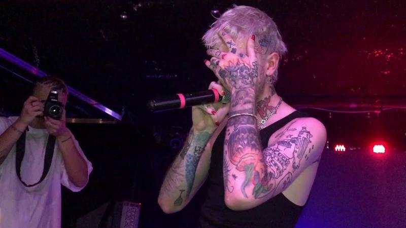Lil Peep 'The Brightside' Live in Atlanta @ The Loft 11 07 17 w lyrics