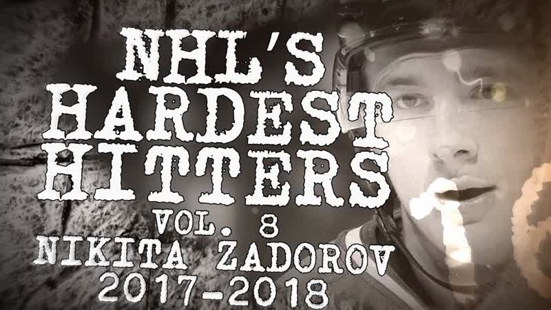 Biggest Nikita Zadorov Hits of 2018 NHLs Hardest Hitters