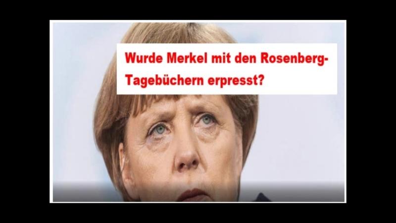 Wurde Merkel mit den Rosenberg-Tagebüchern erpresst