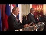 Переговоры В.В.Путина с Президентом Австрии Александром Ван дер Белленом