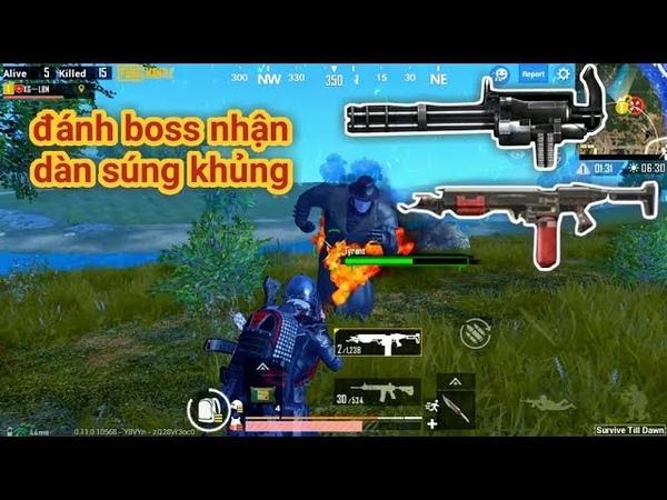 PUBG Mobile Trải Nghiệm Chế Độ Zombie Đánh Boss Nhận Loạt Súng Khủng M134 Flamethrower