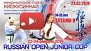 Russian Open Junior Cup 14-15 лет. Татами В
