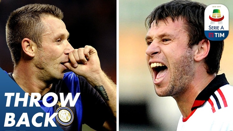 Milan Derby Special - Cassano Retires Can you guess who has scored for both Milan clubs? | Serie A