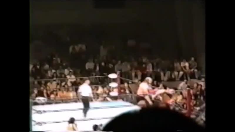 1994.11.19 - Dory Funk Jr./Johnny Smith vs. Yoshinari Ogawa/Masao Inoue [HANDHELD]