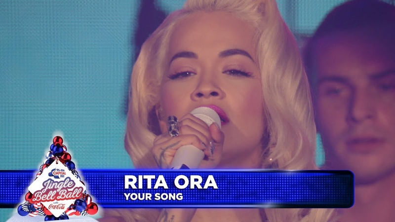 Rita Ora Your Song Live at Capital's Jingle Bell Ball