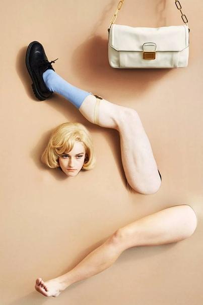 Джулия Гарнер : Алекс Прагер, Garage Magazine (2014)