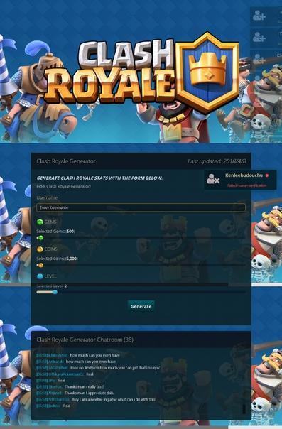 apk mod clash royale 2018