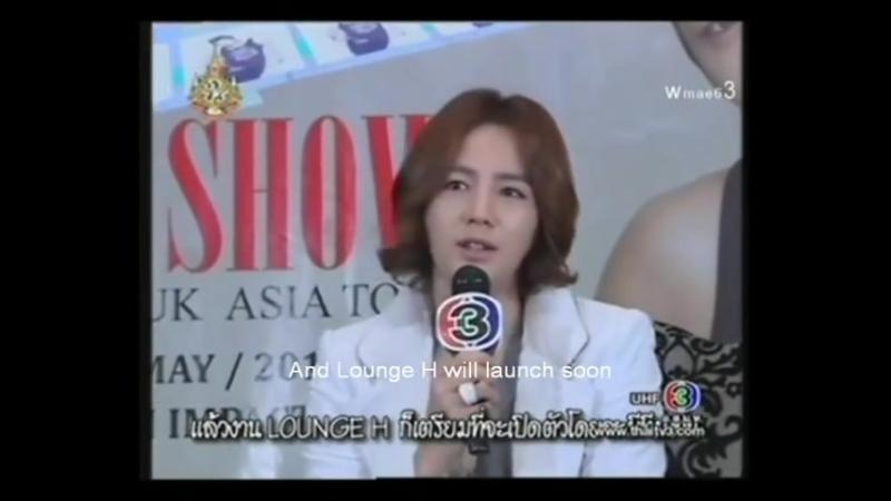"""Jang Keun Suk Interview in """"3 FOR YOU"""" - Part 1, 8.06.2011 (eng sub)"""