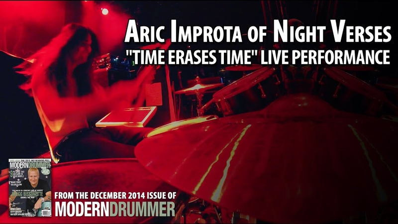 Night Verses Drummer Aric Improta Time Erases Time Live Drum Cams