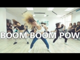 BOOM BOOM POW - The Black Eyes Peas. Choreo by Anna Volkova