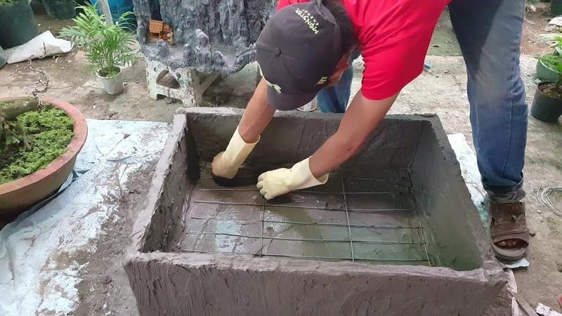 Tập 193 hướng dẫn làm cái bể bằng thùng xốp kích thước 80x60