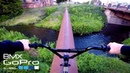 GoPro BMX: Pipe ride over the river