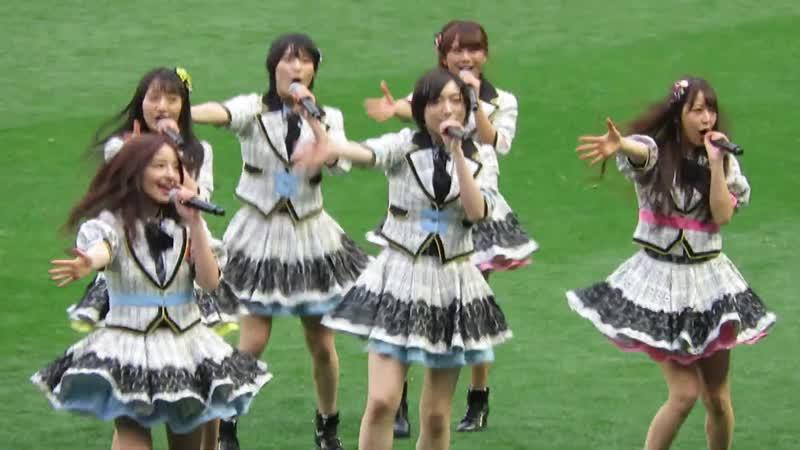 NMB48「オーマイガー!」@ 皇后杯 JFA 第40回全日本女子サッカー選手権大会 ハーフタイムショー
