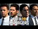 FIFA 19 NEW MANAGERS COACHES FACES