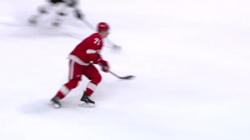 Larkin dekes past Doughty to score pretty goal