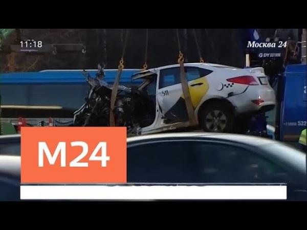 Водитель Maybach не пострадал в ДТП с такси на Кутузовском проспекте - Москва 24