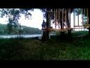Троллей - скоростной спуск в веревочном парке СРК АПАЧИ