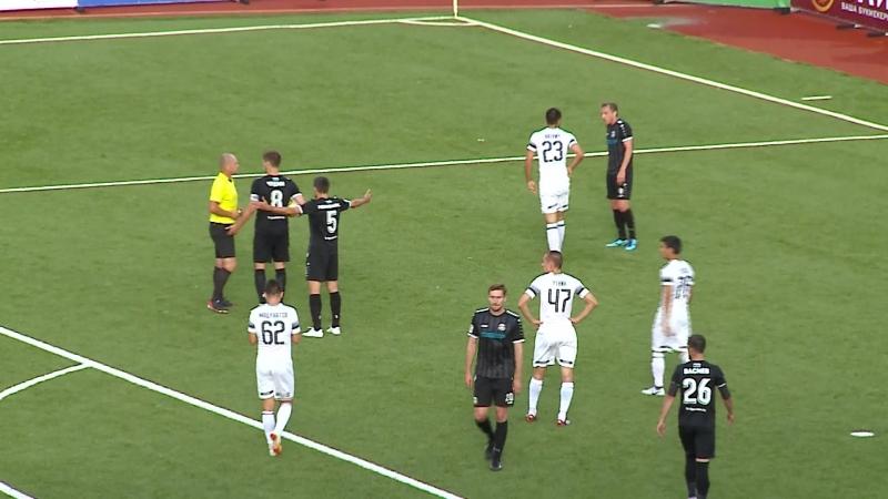 ФК «Тюмень» - «Краснодар-2» (0:1). Момент нарушения правил и победный пенальти гостей