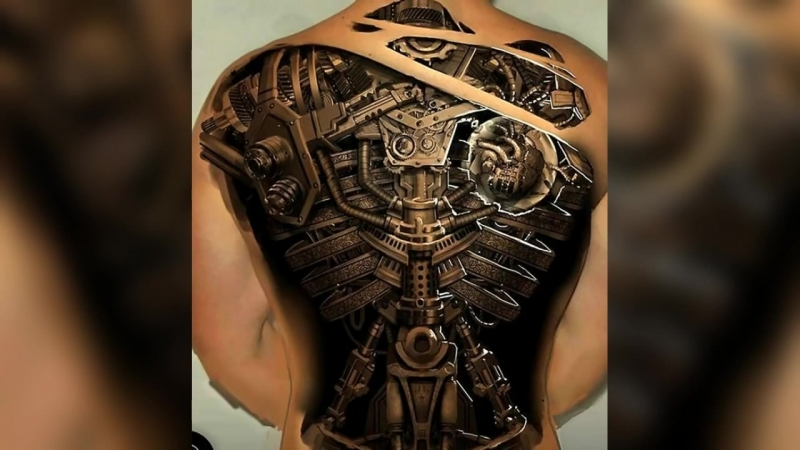 26 Times the 3D Skills of Tattoo Artists Surpassed All Expectations Muhammad W