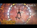 Duo Transcend Blindfolded Couple Performs Breathtaking Trapeze - Americas Got Talent 2018