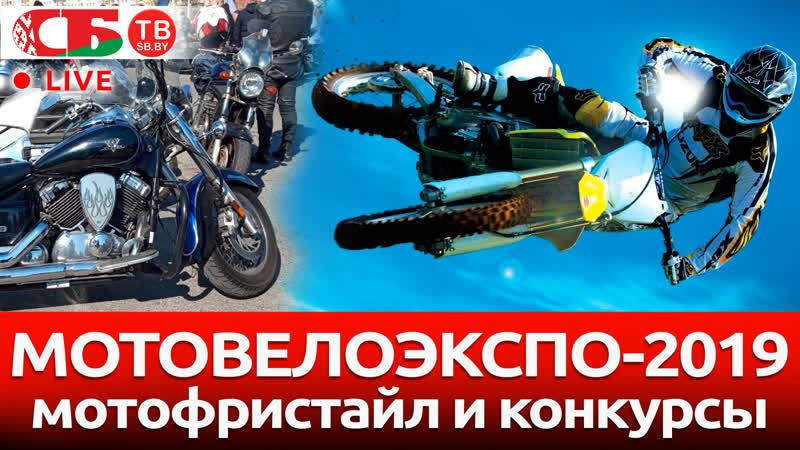 Мотофристайл и конкурсы на выставке МОТОВЕЛОЭКСПО-2019 | ПРЯМОЙ ЭФИР