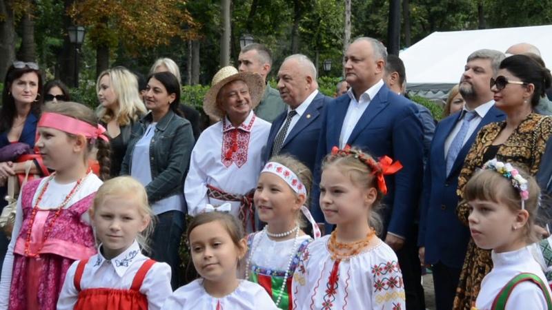 ОТКРЫТИЕ ЭТНО-КУЛЬТУРНОГО ФЕСТИВАЛЯ - 2018 В КИШИНЁВЕ