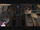 X-Plane 11 UNKL Красноярск до UNNT Новосиб и UNOO Омск на Boeing 757-200RR V2.2.9 VATSIM BMA163
