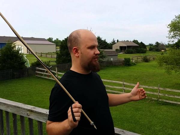 Homemade throwing arrow!