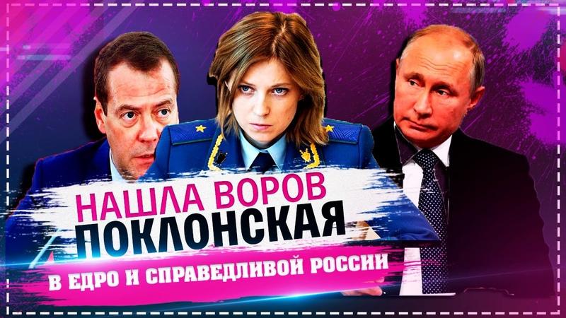 Поклонская нашла воров депутатов в ЕДРО и Справедливой России